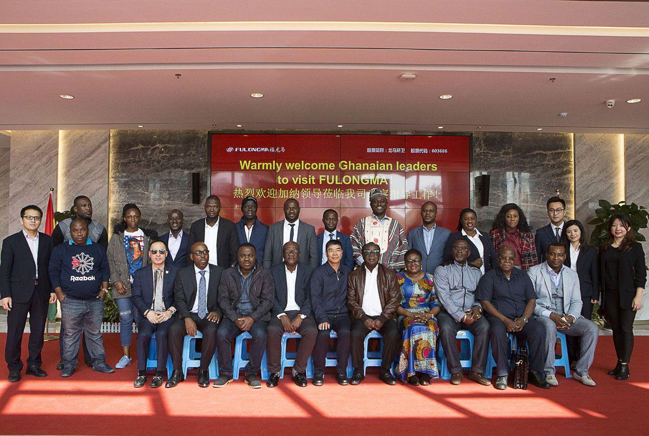 GHANAIAN LEADERS VISITED FULONGMA AGAIN