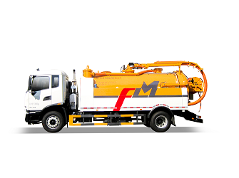 Sewer Dredging and Cleaning Vehicle - FLM5180GQXDF6X