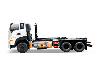 Natural Gas Hook-lift Garbage Truck - FLM5250ZXXDF6NG