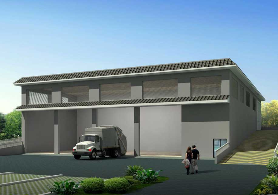 Leachate Treatment Project of Ruijin Waste Transfer Station