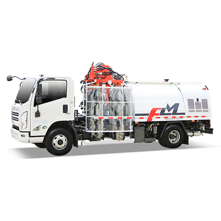 New Products is Coming | Two-way Guardrail Cleaning Truck Launched