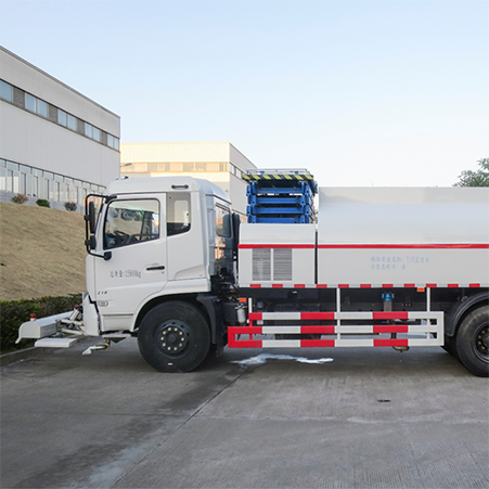 Brief introduction of natural gas cleaning truck