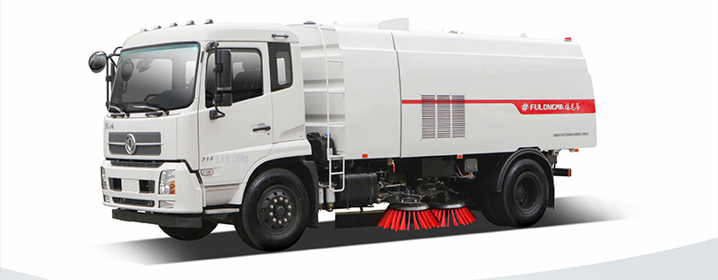 Fulongma road sweeper performance
