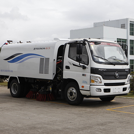 Introduction of Fulongma road sweeper