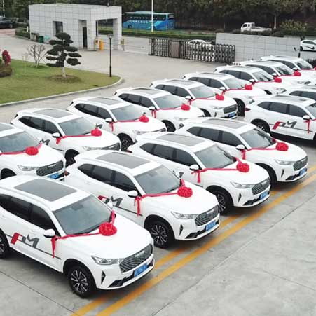 The FULONGMA After-sales Service Fleet Delivery Ceremony Held Successfully
