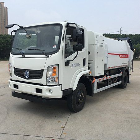 Introduction to the structure and function of FULONGMA compression garbage truck