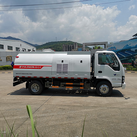 How to Choose the High-Pressure Washing Truck? Introduction of FULONGMA High-Pressure Washing Truck