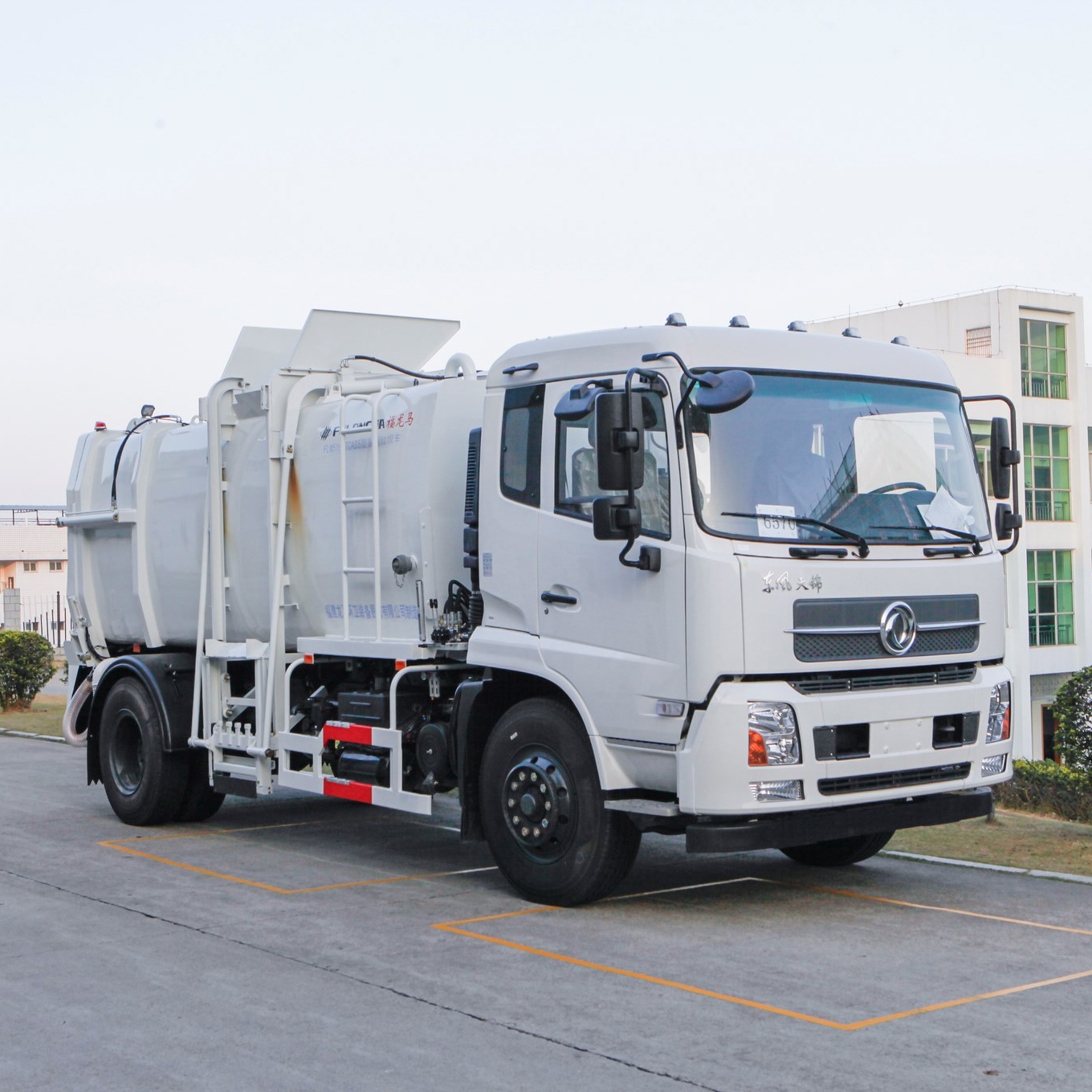Introduction to the characteristics and advantages of FULONGMA kitchen garbage truck