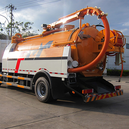 What is a sewer dredging cleaning vehicle? FULONGMA sewer dredging cleaning truck recommended