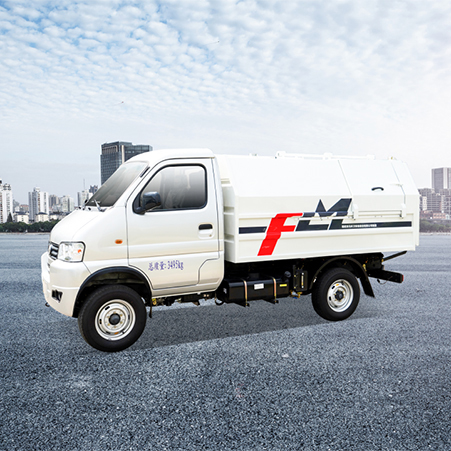 New products are coming | Self-loading garbage trucks are