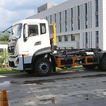 What is a detachable garbage truck? Introduction of FULONGMA Detachable Garbage Truck