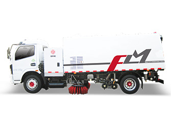Electric Washing & Sweeping Truck - FLM5120TXSDGBEVL