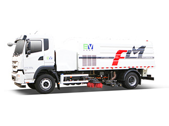 Electric Washing & Sweeping Truck - FLM5180TXSBYBEV