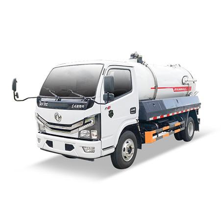 FULONGMA Dongfeng 8-ton sewage suction truck function and maintenance