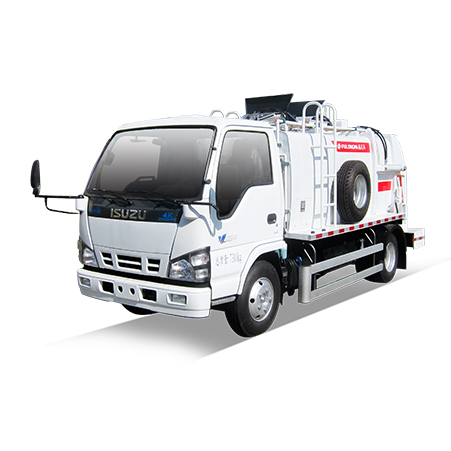 Fulongma airtight pressure-fill high-efficiency kitchen waste truck is coming