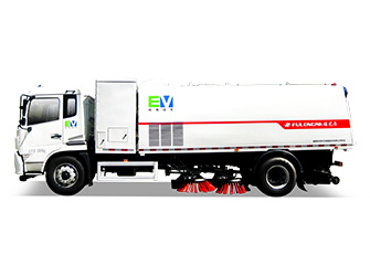 Electric Street Sweeping Truck - FLM5180TSLDFBEV