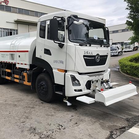 FULONGMA sprinkler truck performance and work