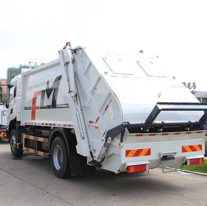 Functional characteristics of FULONGMA 18-ton rear load garbage truck