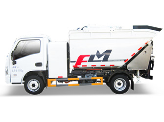 Electric Self-Loading & Dumping Garbage Truck - FLM5040ZZZNJBEVH