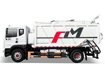 Natural Gas Garbage Compactor Truck - FLM5180ZYSDG6NGGW