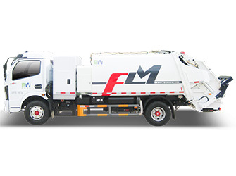 Electric Garbage Compactor Truck - FLM5080ZYSDGBEV