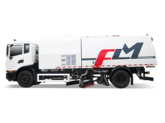 Natural Gas Vacuum Sweeping Truck - FLM5180TXCDF6NG