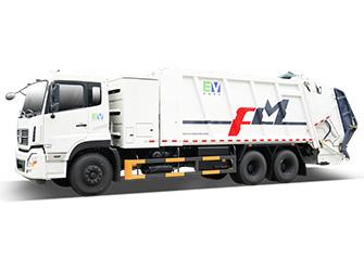Electric Garbage Compactor Truck - FLM5250ZYSDFBEV