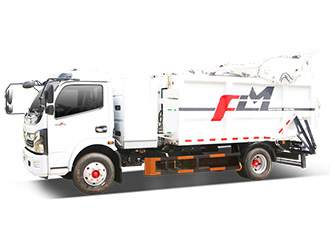 Electric Garbage Compactor Truck - FLM5080ZYSDGBEVGW