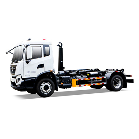 FULONGMA Hook-lift Garbage Truck Performance Characteristics and Working Video