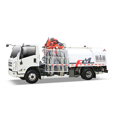 FULONGMA Double-sided Guardrail Cleaning Truck performance characteristics and working video