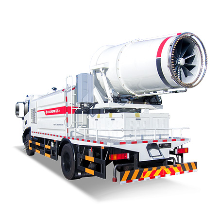 FULONGMA Multi-functional Dust Suppression Truck function introduction, pictures and videos