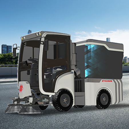 Performance and structural characteristics of FULONGMA intelligent electric road sweeper