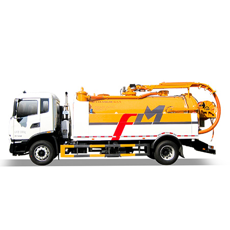 Purpose and configuration of FULONGMA's latest 18-ton sewage cleaning and suction truck
