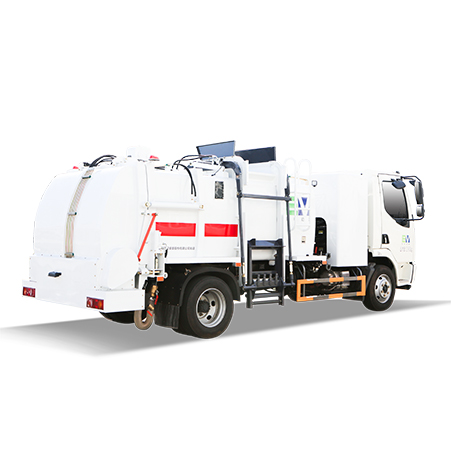FULONGMA's most advanced 12-ton pure electric food waste collection truck