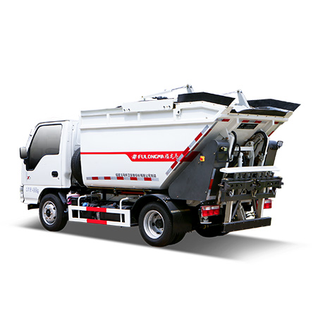 Introduction to the configuration and characteristics of FULONGMA self-loading garbage truck