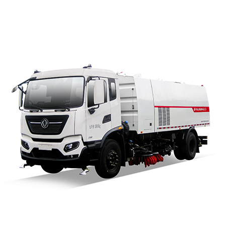 FULONGMA 18-ton latest washing & sweeping truck function features and video