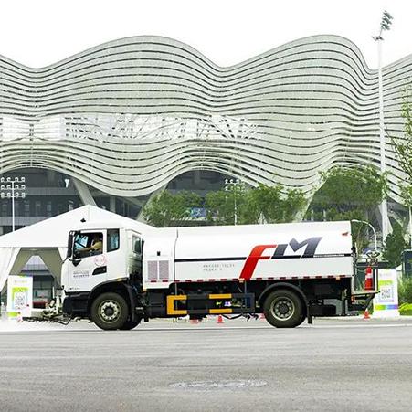 Longma Sanitation helps the 14th National Games