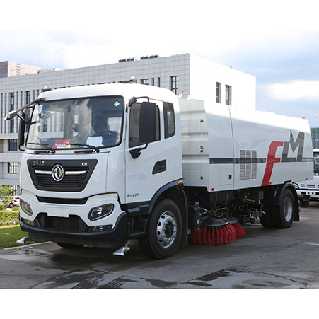 New intelligent system fosters more 'polite' washing and sweeping trucks