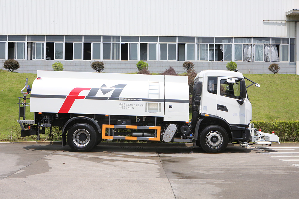 camión de limpieza de alta presión
