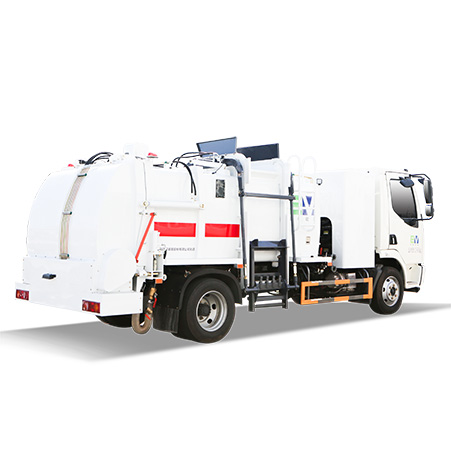 No water leaks | FULONGMA pure electric wet waste collection truck is coming