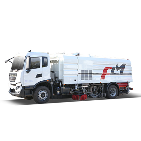 Configuration and evaluation of FULONGMA's latest 18-ton large-scale washing and sweeping truck