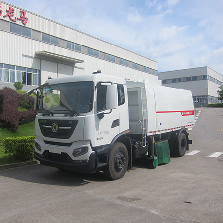 Introduction to the features of FULONGMA's latest dry and wet sweeper truck
