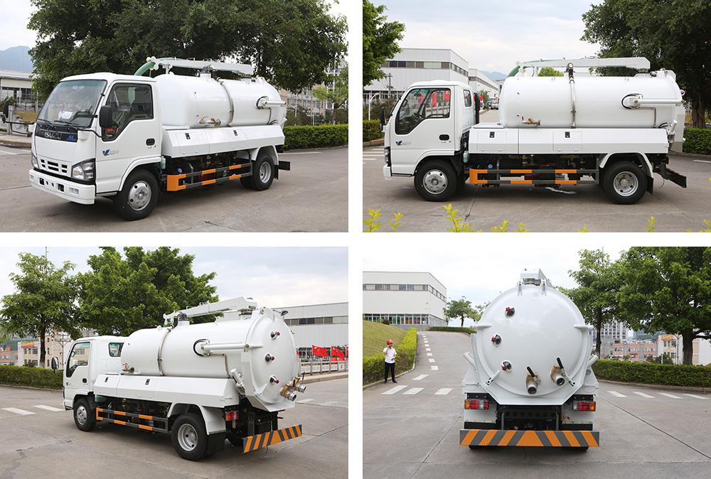 sewage suction truck