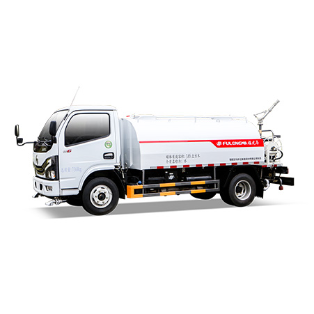 What are the configurations and functions of the FULONGMA 7-ton small sprinkler truck?