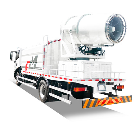 FULONGMA new multifunctional dust suppression vehicle, low noise, and low energy consumption