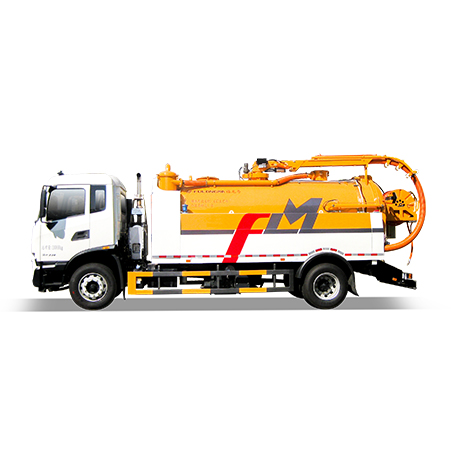 FULONGMA high-performance sewer high-pressure cleaning dredge vehicle configuration and advantages